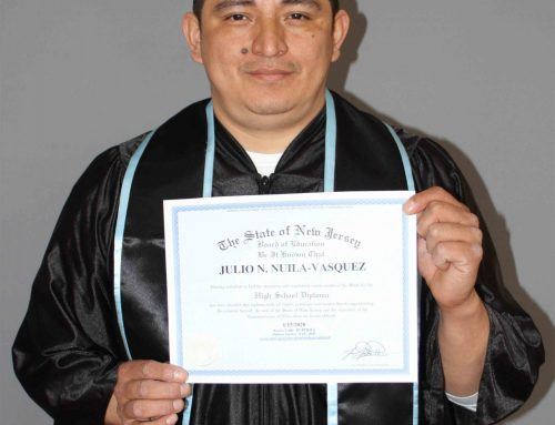 Julio's GED Graduation