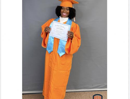 Adama's GED Graduation