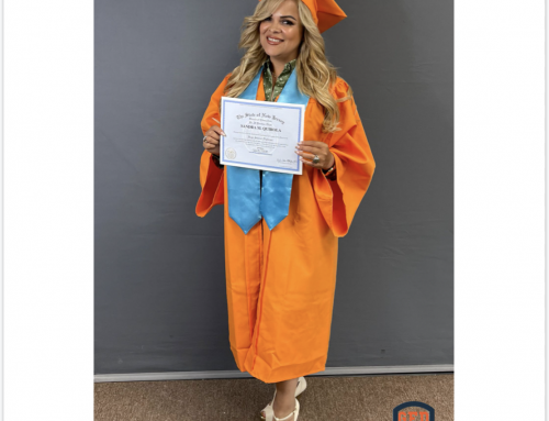 Sandra's GED Graduation